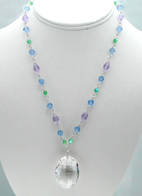 Crystal Necklace of Perfect Prisms