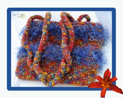 Funky Felted Purse